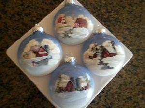 Barn Ornaments