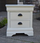 Short and Sweet and to the Point- a handsome nightstand redone